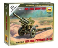 Soviet 122mm Howitzer M-30 with Crew - 1/72