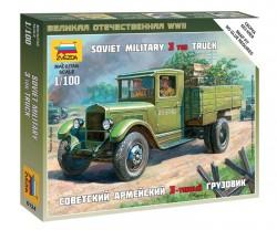 Soviet Military 3-Ton Truck - 1/100