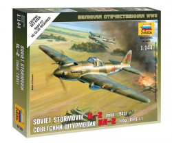 Ilyushin Il-2 - Sturmovik - Model 1941 - Soviet Armored Attack Aircraft - 1/144