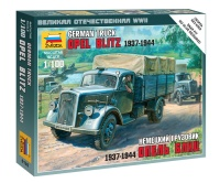 German Military Truck Opel Blitz - 1937 - 1944 - 1/100