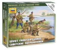 Sowjetische Grenzsoldaten - 1941 - 1:72