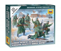 Deutsche Infanterie in Winteruniform - 1941-1945 - 1:72