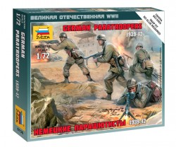German Paratroopers - 1939 - 1942 - 1/72