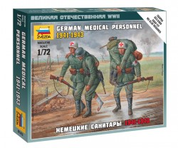German Medical Personnel - 1941 - 1943 - 1/72