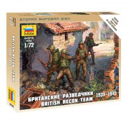 British Recon Team 1939-1945 - 1/72