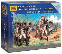 French Line Infantry - 1812-1815 - 1/72