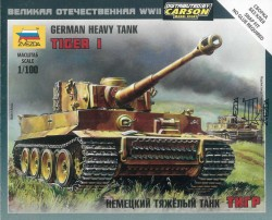 Panzerkampfwagen VI Tiger - 1:100