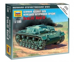 StuG. III Ausf. B - German Assault Gun - 1/100