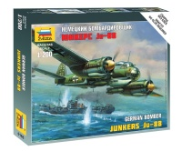 German Bomber Junkers JU-88 - 1/200