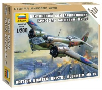 Britischer Bomber Bristol Blenheim MK.IV
