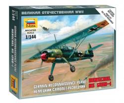 Deutsches Nahaufklärungsflugzeug Henschel HS 126B-1 - 1:144