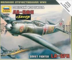 Sowjetisches Kampfflugzeug LA-5FN - 1:144