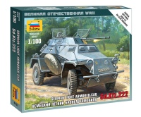 Sd.Kfz. 222 - German light Armored Car - 1/100