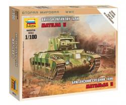 Matlida Mk. II - Britischer Infantry Tank - 1:100