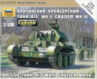 A-13 Mk. II - Britischer Cruiser Tank Mk. IV - 1:100