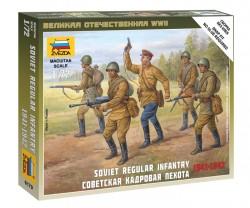 Soviet Regular Infantry - 1941-1942 - 1/72