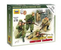 Sowjetische Scharfschützen - 1:72