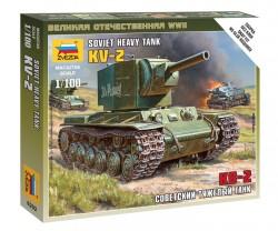 KV-2 - sowjetischer schwerer Panzer - 1:100