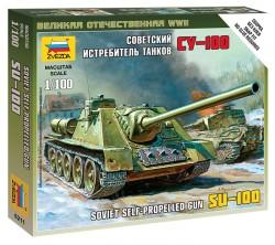 SU-100 - Sowjetischer Jagdpanzer - 1:100