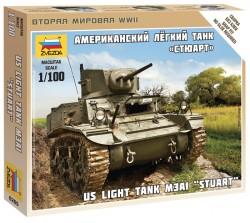 M3A1 Stuart - US leichter Panzer - 1:100