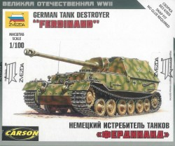 German Tank Destroyer Ferdinand - 1/100