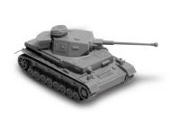 German Medium Tank Pz.Kpfw. IV F2 - 1/100