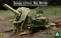Krupp 420mm - Big Bertha - German Empire - 1/35