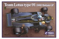 Team Lotus Type 91 - British GP 1982 - 1/20