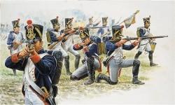 Französische Front Infanterie - Napoleonische Kriege - 1:72