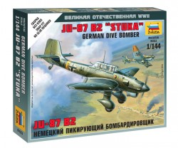 Junkers Ju 87 B-2 - Stuka - Deutscher Sturzkampfbomber - 1:144