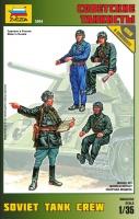 Sowjetische Panzerbesatzung - 4 Figuren - 1:35