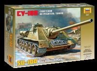 SU-100 - Sowjetischer Jagdpanzer - 1:35
