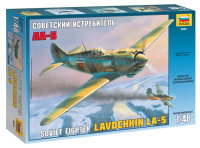 Lavochkin La-5 / Lawotschkin La-5 - Sowjetischer Jäger