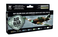 Model Air Set RAF SEAC Colors - 1942-1945