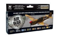 Model Air Set US Army Air Corps - Mediterranean Theater Operations (MTO) - WWII