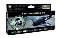 Model Air Set US Navy & USMC Colors - 1940 - 1945