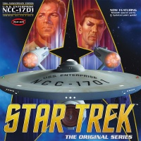 Star Trek USS Enterprise - NCC-1701 - 50th Anniversary Edition - 1:350