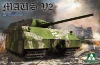Maus - V2 - Deutscher überschwerer Panzer