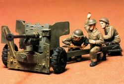British Army 6 Pounder Anti Tank Gun - 1/35