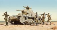 Carro Armato M14/41 I Serie mit Italienischer Infanterie - 1:35