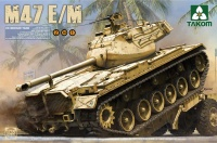M47 E / M Patton - US Medium Tank - 2in1 - 1:35