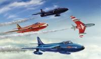 Hawker Hunter F.6/FGA.9 - Aerobatic Teams - Kunstflugstaffeln