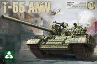 T-55 AMV - Russischer mittelschwerer Kampfpanzer / Russian Medium Tank - 1:35