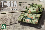 T-55A - Russischer mittelschwerer Kampfpanzer / Russian Medium Tank - 3in1 - 1:35