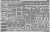 Photo-Etched Parts AA Guns and Rocket Launchers for 1/200 HMS Hood - Trumpeter 03710