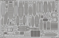 Photo-Etched Parts Life-Rafts for 1/200 HMS Hood - Trumpeter 03710