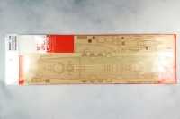 Wooden Deck for 1/144 Imp. Chinese Cruiser Ching Yuen - Bronco KB14001