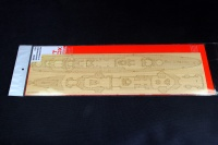 Wooden Deck for 1/350 DKM Heavy Cruiser Blücher - Trumpeter 05346 - 1/350