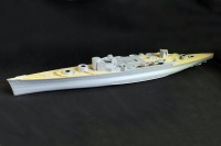 Wooden Deck with PE for 1/200 HMS Hood - Trumpeter 03710