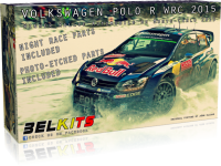 Volkswagen Polo R WRC 2015 - Sieger Rally Monte-Carlo 2015 - 1:24